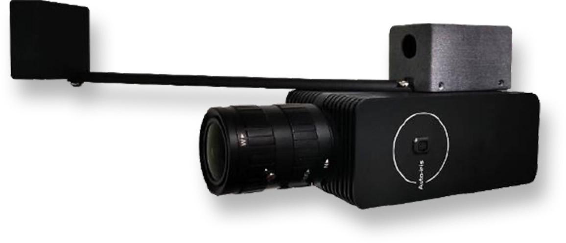 デュアルライトカメラ + 黒体 (温度算出基準)